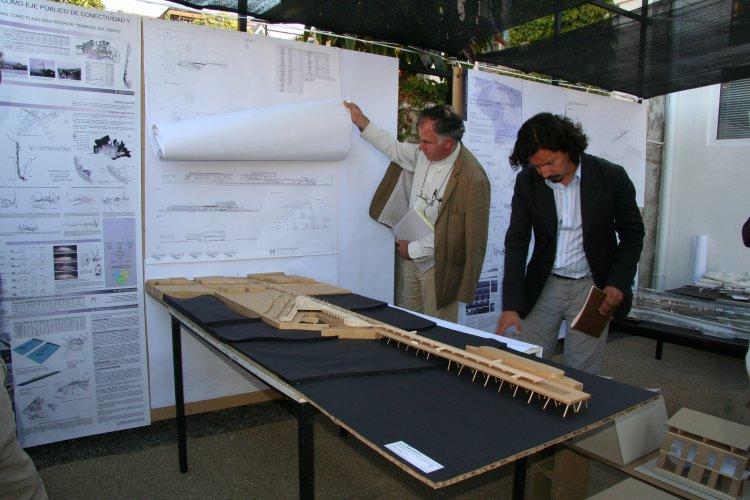 Mag ster en arquitectura y dise o menci n ciudad y for Programas de arquitectura y diseno