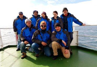 Ciencias del Mar: Profesor Patricio Arana lidera novedosa investigación en la Antártica