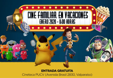 "Panorama cine familiar ""En vacaciones"" regresa a la Cineteca PUCV"