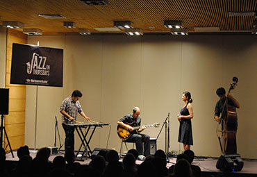 Con exitosa convocatoria, finaliza Jazz On Thursday en Providencia