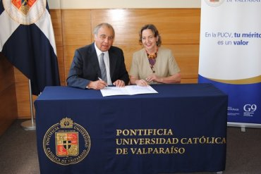 PUCV adhiere a Pacto Global Chile