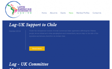Lag-UK Support to Chile - Declaración