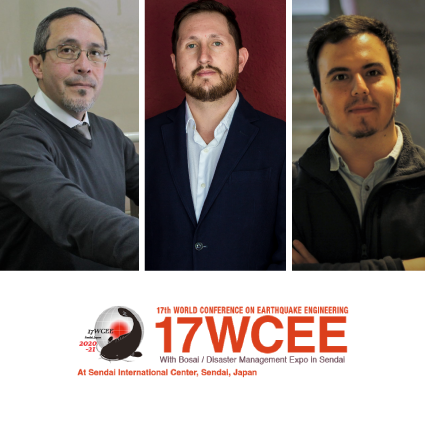 Académicos publican investigación en el 17th World Conference on Earthquake Engineering