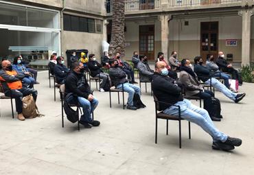 Comienzan tareas de sanitización en campus y edificios de la PUCV