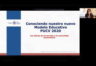 Católica de Valparaíso socializa su nuevo Modelo Educativo con personal de administración y servicios