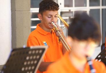 Orquesta PUCV realizó tutorías a distancia a pequeños músicos de la región