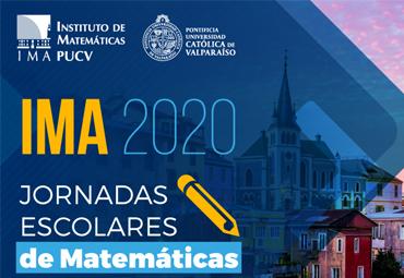 "Estudiantes participaron de las ""Jornadas Escolares de Matemáticas IMA 2020"""