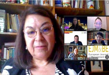 Profesora participa en el Encuentro Internacional de Empresas, Instituciones y la Nueva Normalidad