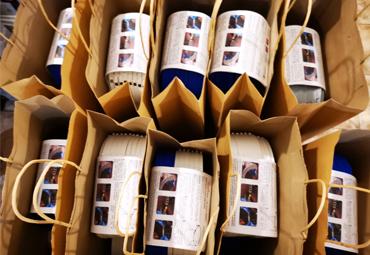 Valparaíso Makerspace PUCV dona 500 escudos faciales para estudiantes de enfermería y ELEAM