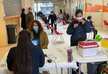 Covid-19: En la PUCV comenzó vacunación a estudiantes de universidades de la Región de Valparaíso
