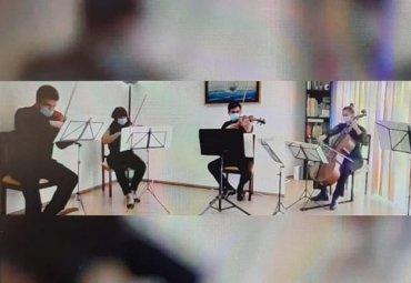"""PUCV ofrece conciertos educacionales en seis escuelas y liceos a través del programa """"La Orquesta llega a tu Sala"""""""
