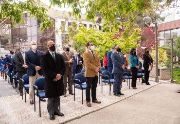 PUCV realiza primera ceremonia de graduación presencial después de un año y medio