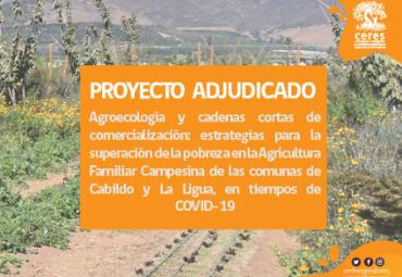 Centro Ceres se adjudica proyecto Acción Social en apoyo de agricultores de Cabildo y La Ligua