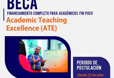 Beca curso Academic Teaching Excellence (ATE)